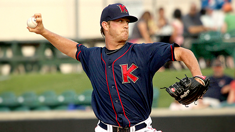 Steven Wright has taken the mound for nearly every Indians affiliate.