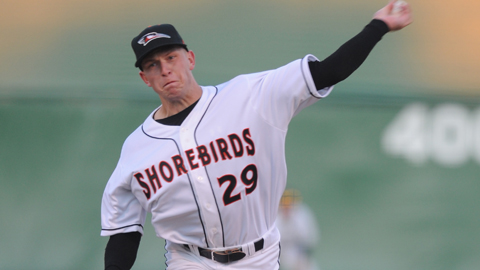Jacob Pettit is 5-0 with a 1.38 ERA since joining the Keys last month.