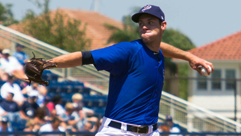Tony Cingrani is 1-0 with a 1.42 ERA in two starts for the Pensacola Blue Wahoos.