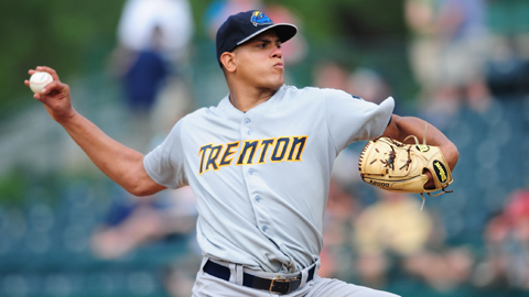 Dellin Betances compiled a 3.42 ERA in 21 games at Trenton in 2011.