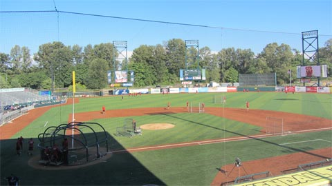 Eugene had just days to transform PK Park after the end of Oregon's season.